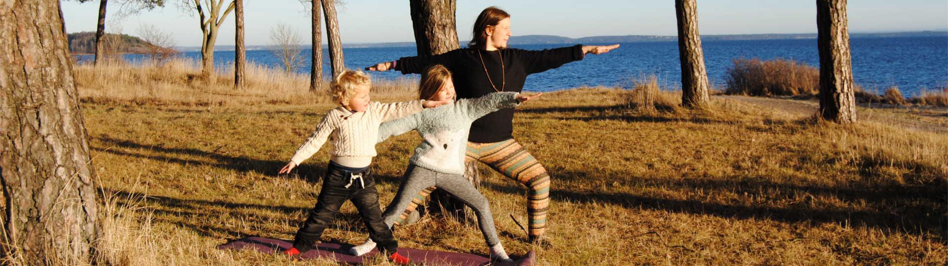 Barneyoga hos Gaia Yoga Tønsberg